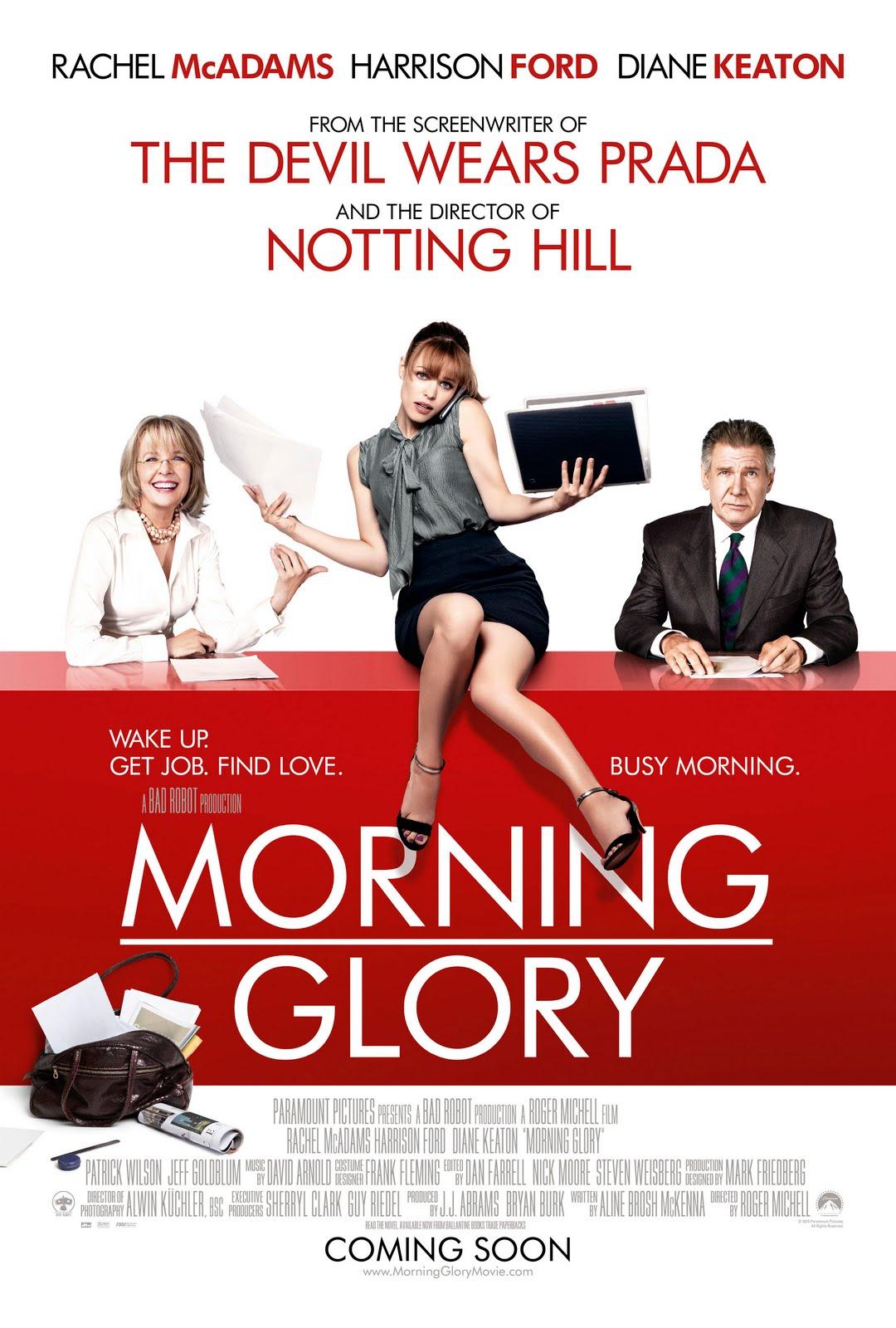 200 Movies, 1 Year: Morning Glory - Movie No. 23