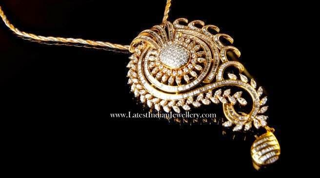 Luxurious Diamond Pendant Design