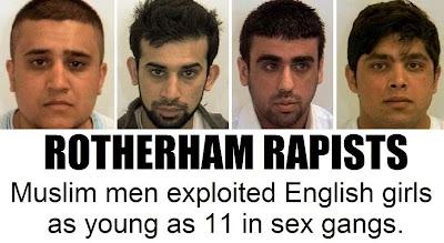 Rotherham Muslim rapists