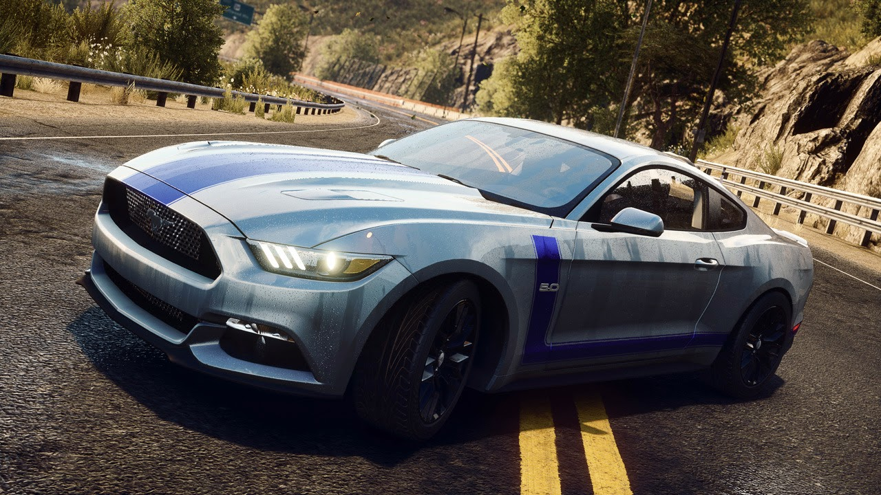 automotiveblogz 2015 ford mustang in need for speed rivals photos. Black Bedroom Furniture Sets. Home Design Ideas