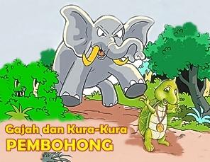 Gajah Dan Kura Kura Pembohong Cerita Anak Dongeng Legenda