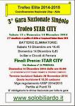 3° Gara NAZ. SINGOLO   Circ. STAR CITY-FE