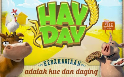 Tips dan Trik Bermain Game Hay Day Bagi Pemula di Android