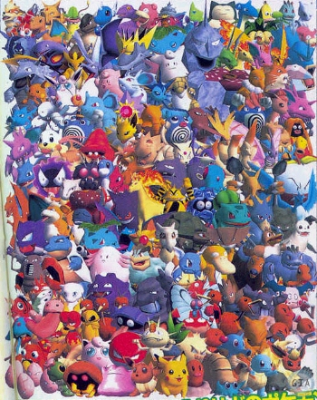 Pokemon game characters