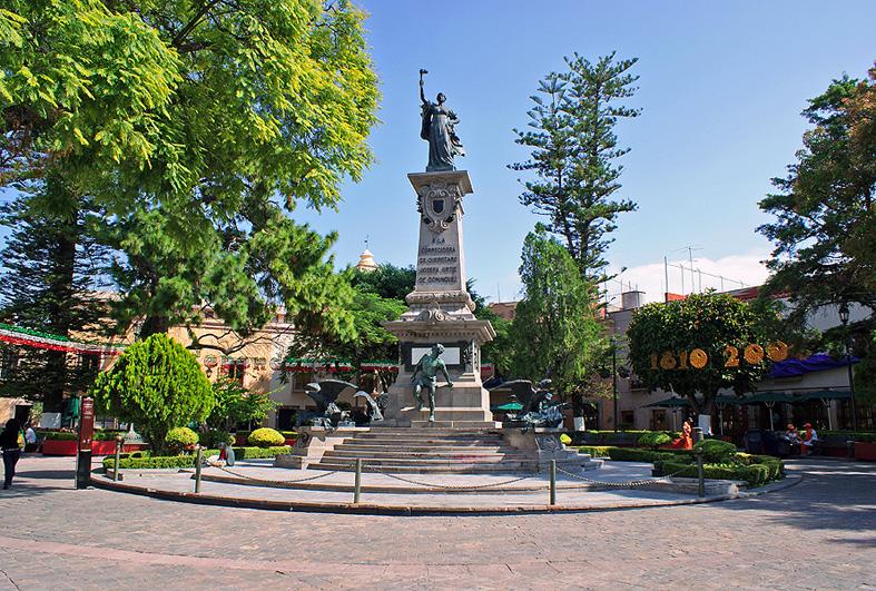 Centro historico de quer taro for Jardin zenea queretaro