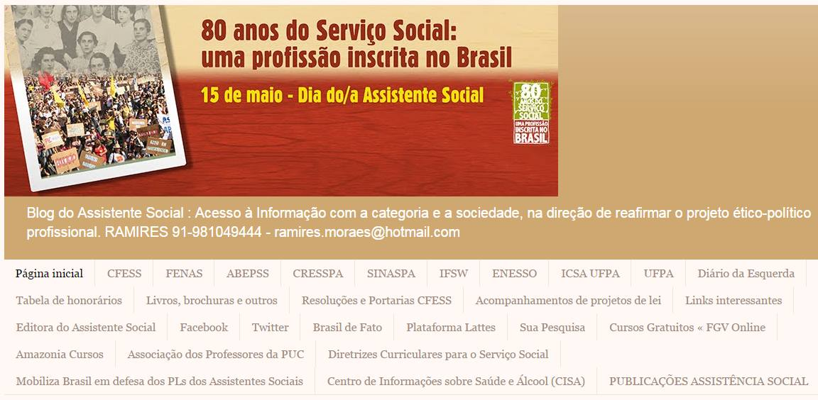 Blog do Assistente Social