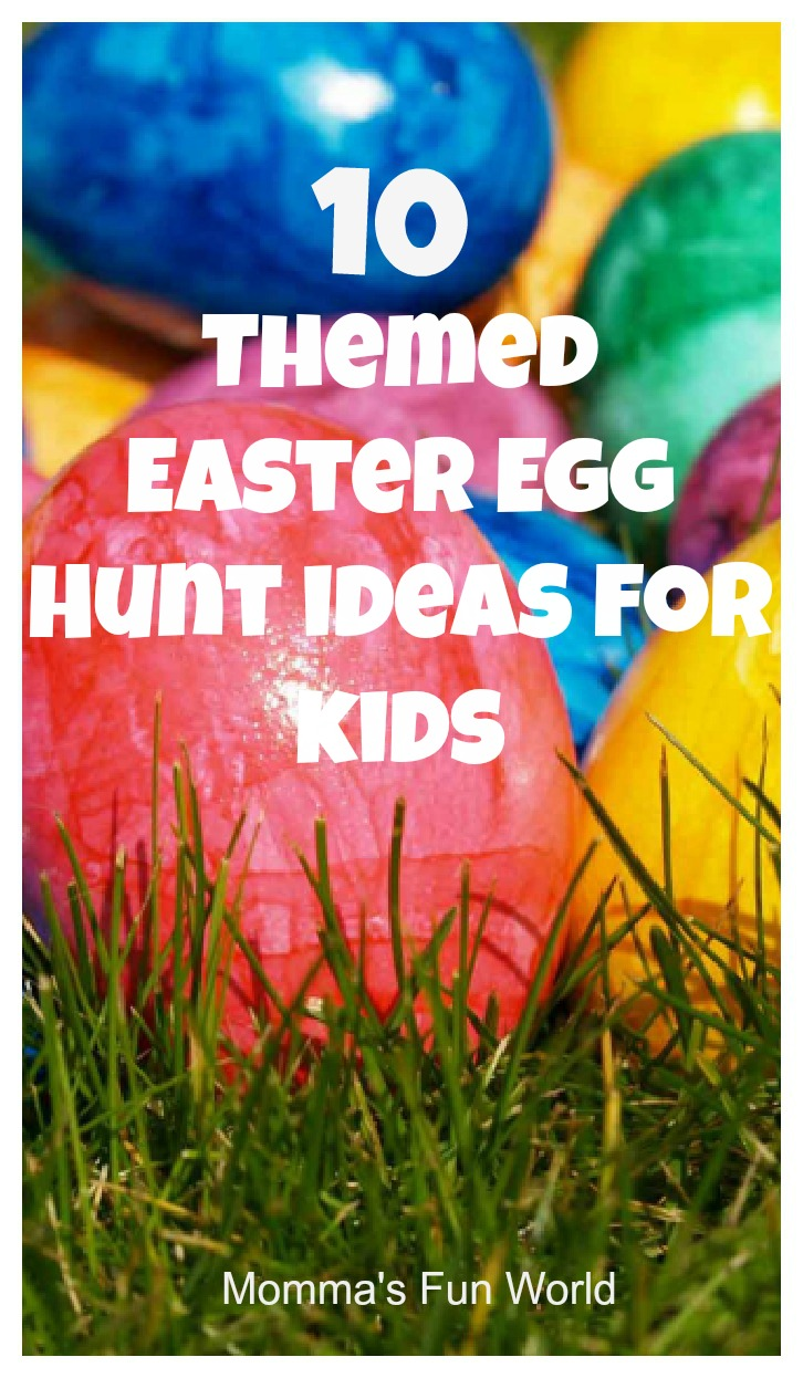 10 themed easter egg hunt ideas for kids - recycling center