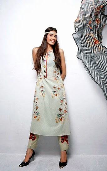 Lawn dresses stitching style