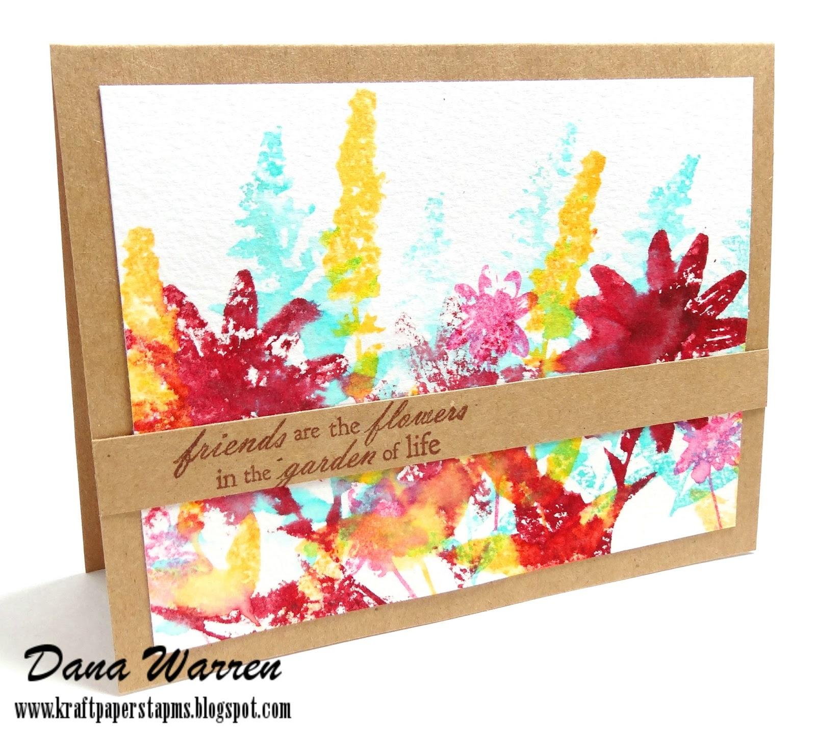 Dana Warren - Paper Kraft Stamps