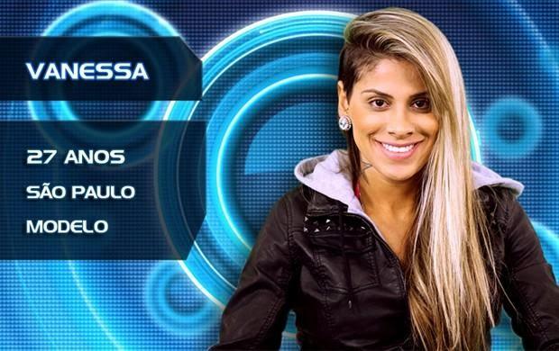 Lista de Participantes BBB14 - Participante Vanessa