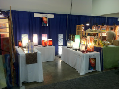 Szal Design's booth at the New England Home Show