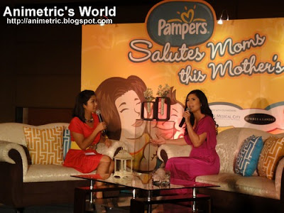 Pampers event with Vina Morales