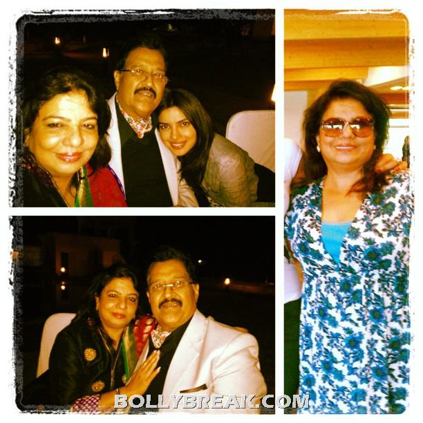Priyanka with family  - (3) -  Priyanka Chopra's personal pics from Twitter!!!