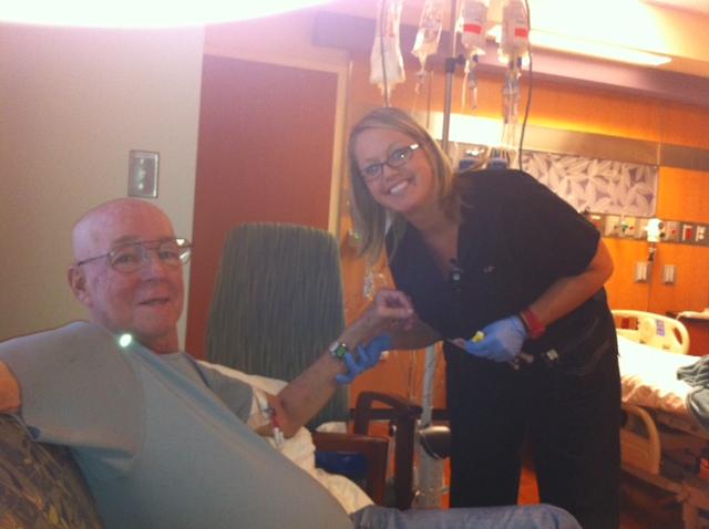 Joe's FINAL Chemo done!