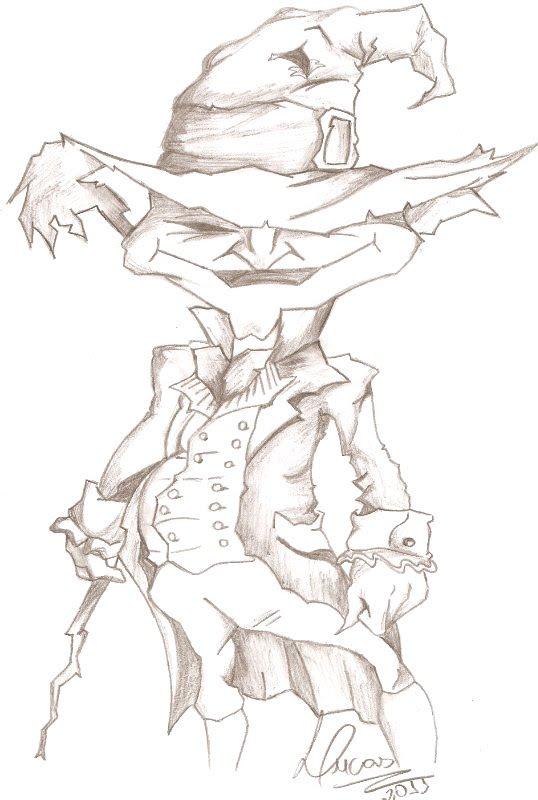jolly roger art desenho duende
