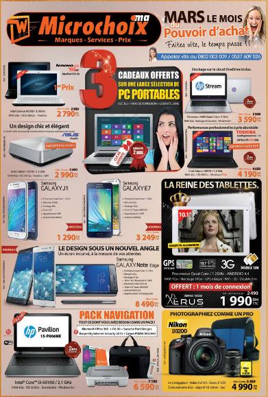 catalogue microchoix mars 2015