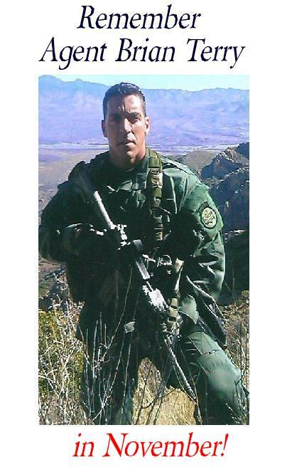 Brian Terry remember in november