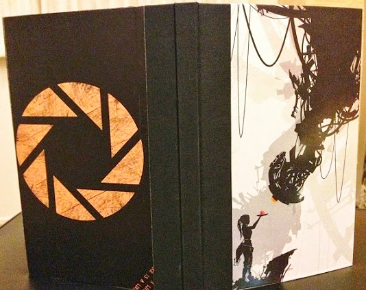 Handmade Portal journal by Caught in a Bind