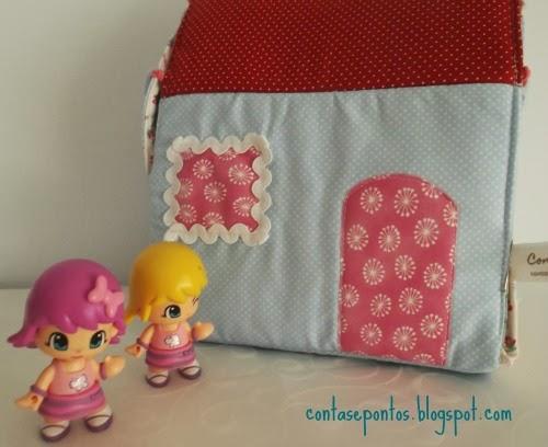 casa de bonecas, tecido