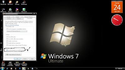 Membuat Program Run As Administrator Windows 7