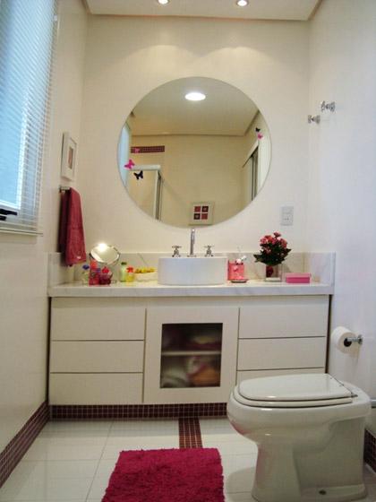 decoracao banheiro jovem : decoracao banheiro jovem:Assinado pela Designer Kaira Doebber.