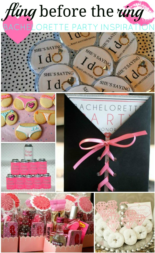 Fashionista fling before the ring bachelorette party inspiration