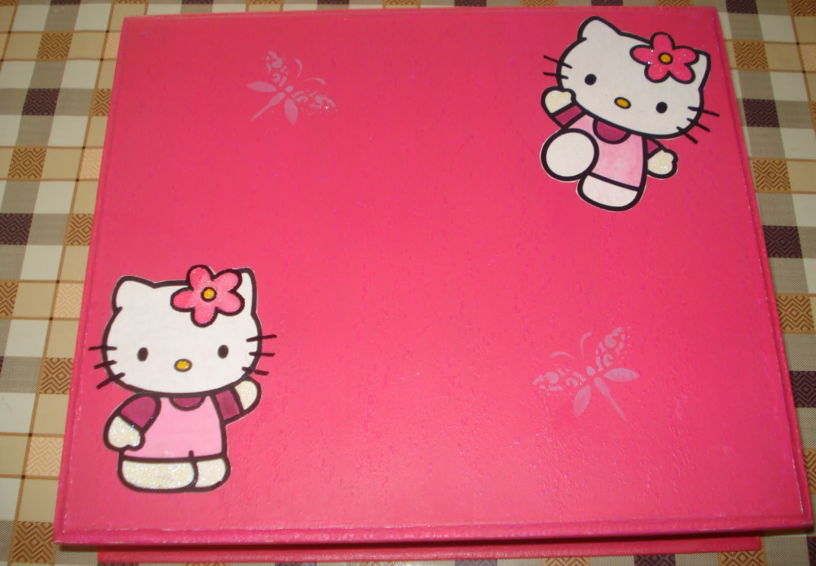 Artesanatos Dona Casa Porta Jóias  Hello Kitty