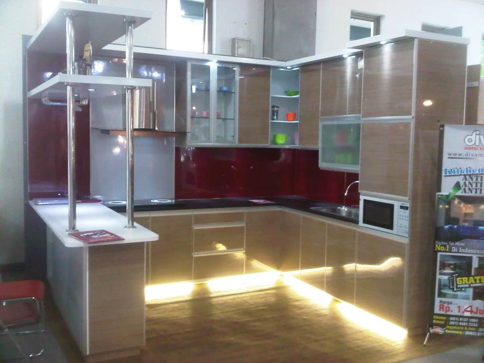 Kitchenset anti rayap juni 2013 for Harga kitchen set aluminium