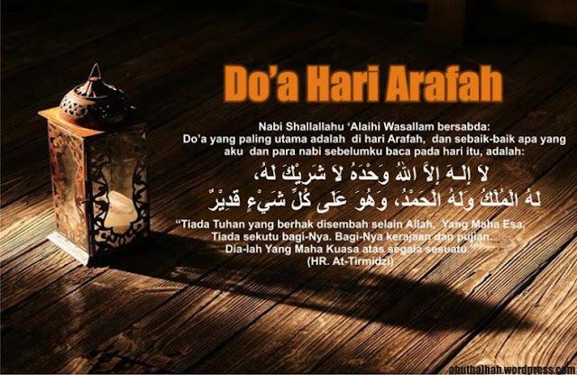 Puasa Sunnah Arafah Indonesia itu 9 Dzulhijah bukan ikut Wukuf di Makkah