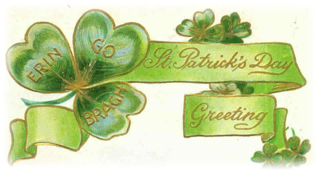 Genius image with regard to free printable clipart for st patrick's day