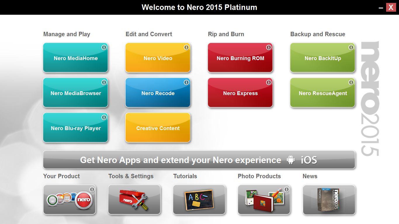 Download Nero 2015 Platinum Final Full Patch