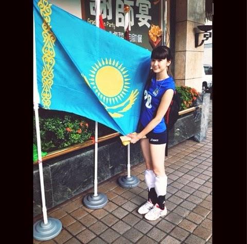 Foto Sabina Altynbekova si Atlet Voli Cantik Asal Kazakhstan