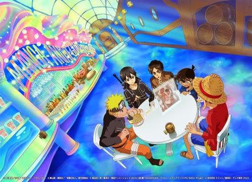 tokoh anime melawan pembajakan