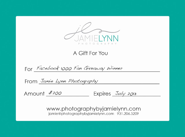 $200 Gift Certificate - FREE