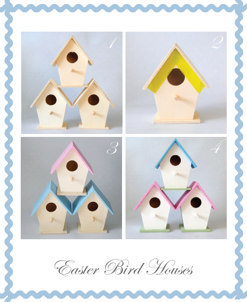 Easter Butterfly Bird House instructions