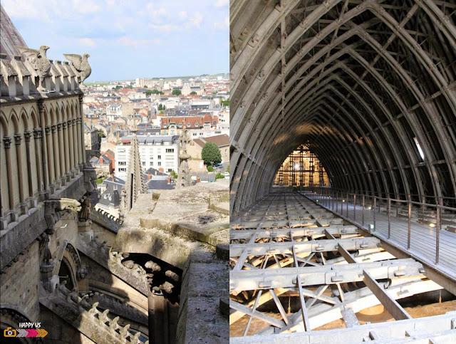Cathédrale de Reims - Charpente
