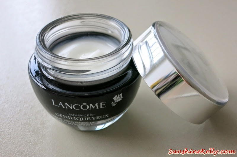 Lancome, Advanced Genifique Yeux, Youth Activating Eye Cream Review, product review, eye cream review, anti aging eye cream