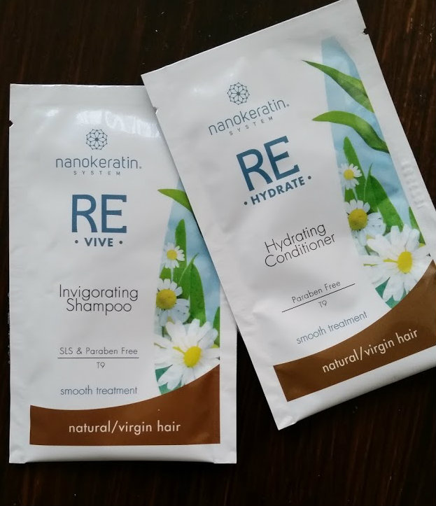 Nanokeratin System Invigorating Shampoo & Hydrating Conditioner