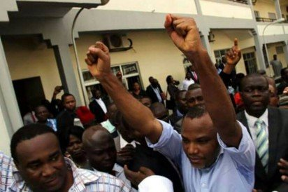 Court frees Nnamdi Kanu as DSS drops all charges against him