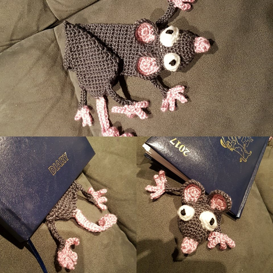 Mr Ratty the Bookmark