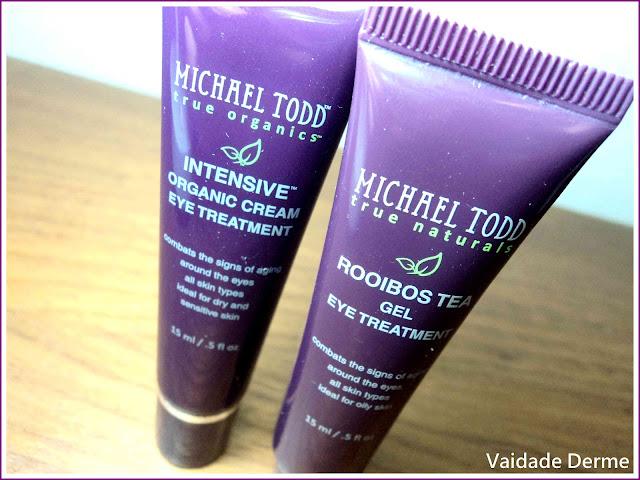 Área Dos Olhos Extrato de Chá de Rooibos e Intensive do Michael Todd