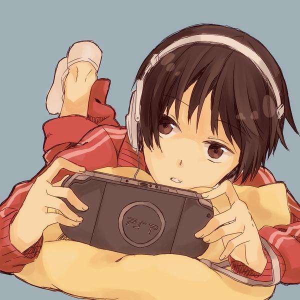 Image Editing 2 Girl+playing+psp
