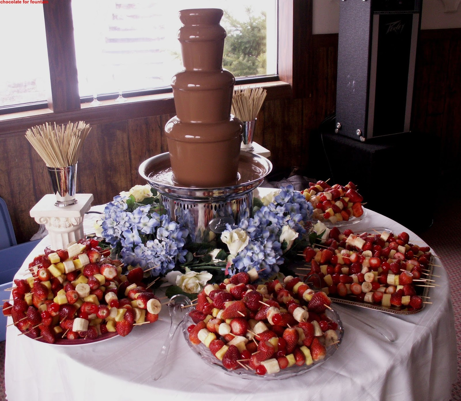 Chocolate For Fountain 2015 - The Best Party Cake