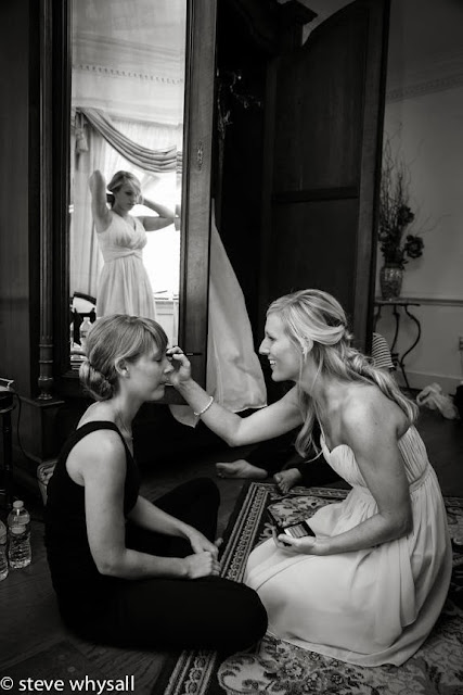 Stone Manor COuntry Club Wedding Bride Getting Ready