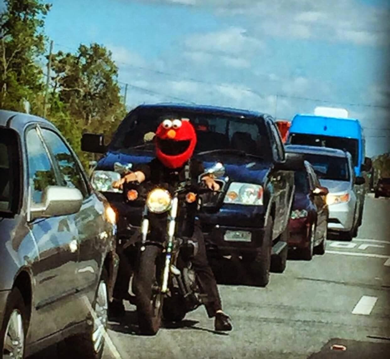 Motorcycle Helmets Elmo Helmet
