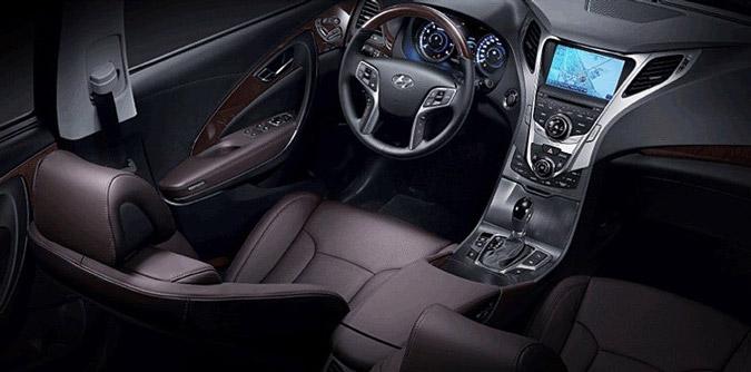 a car Hyundai Azera 2014