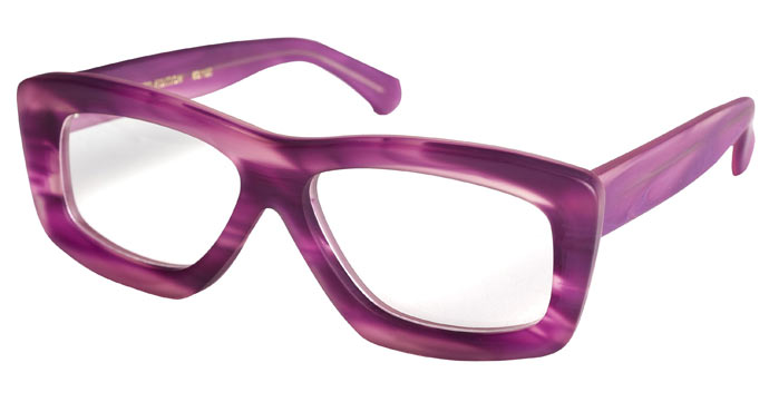Purple haze all in my eyes: RVS by V 212 limited edition spectacles