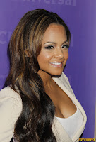 Christina Milian NBC Universal summer press day in Pasadena