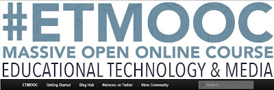 etmooc, educational technology and media mooc