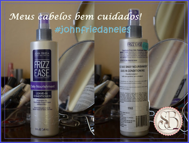 Somando Beleza, Leave-in John Frieda, Neiva Marins The Beauty Box